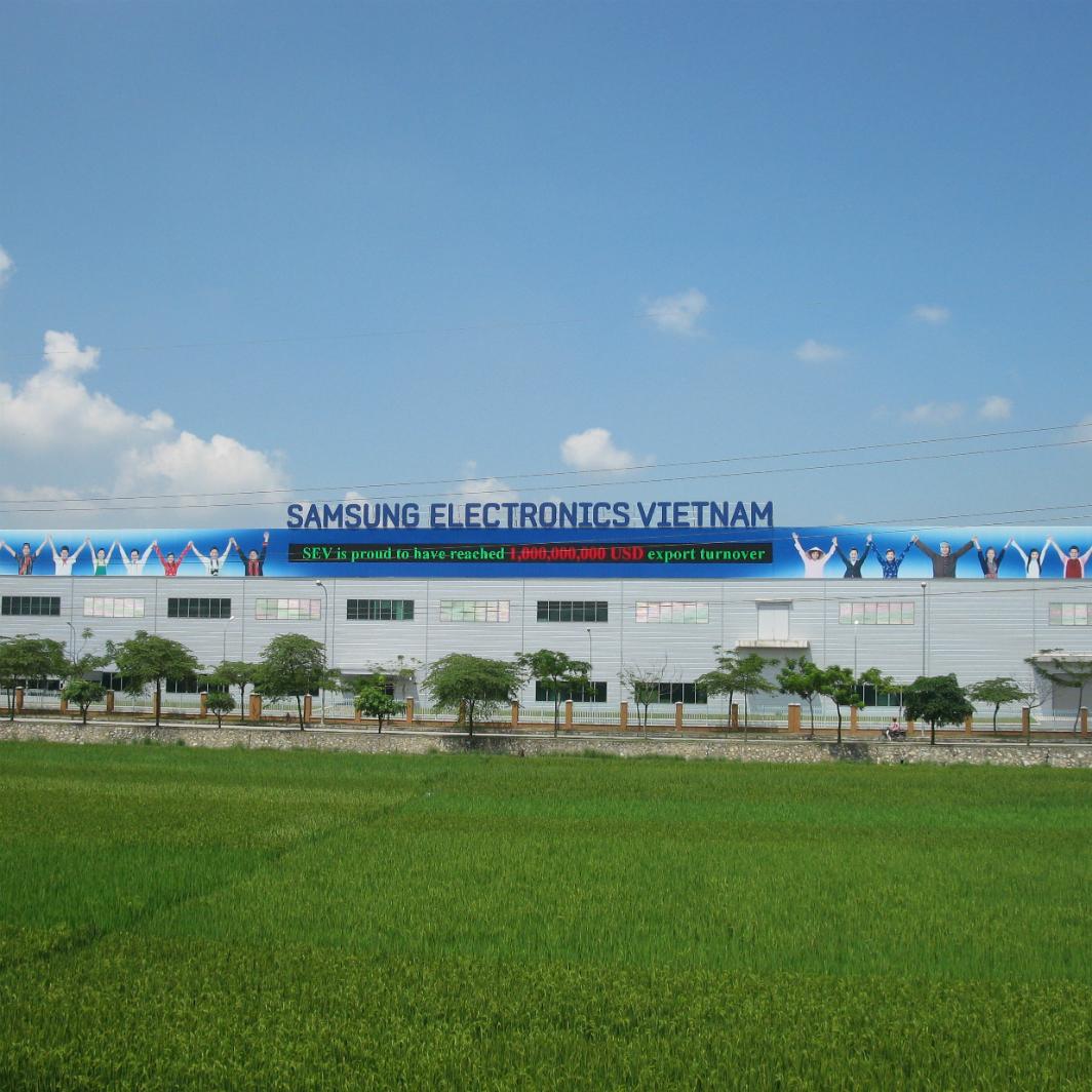 Tập đoàn Samsung Việt Nam - Nhà Máy Bắc Ninh